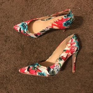 Jessica Simpson Floral Stiletto